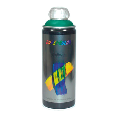 Smalto spray Platinum verde muschio RAL 6005 satinato 400 ml