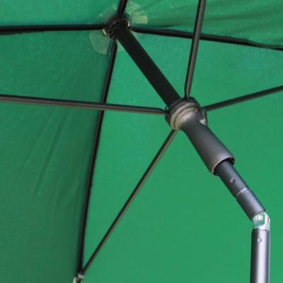 Ombrellone 2,25 x 1,9 m verde