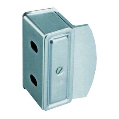 Battente portaincontro zincato H 10 cm
