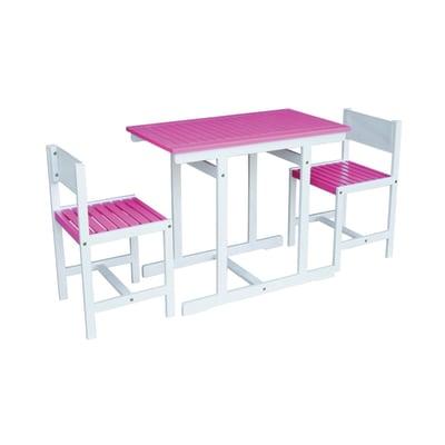 Set tavolo e sedie Balcony Fucsia