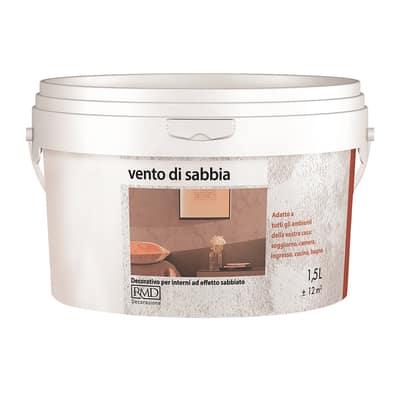 Pittura ad effetto decorativo vento di sabbia sahara 1 5 l for Pittura vento di sabbia