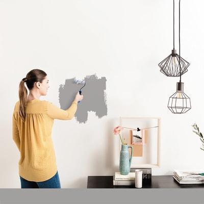 Tester idropittura murale Mano unica Grigio Sasso 3 Luxens