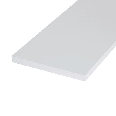 Pannello melaminico bianco 18 x 600 x 1200 mm