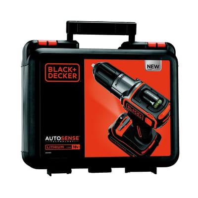 Trapano avvitatore Black & Decker ASD184K-QW, 18 V 1,5 Ah