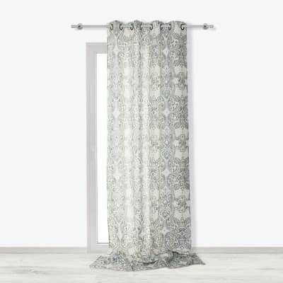 Tenda Arabesque grigio 140 x 300 cm