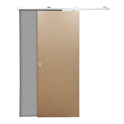 Porta da interno scorrevole practical filomuro grezza 80 x for Stendibiancheria a muro leroy merlin