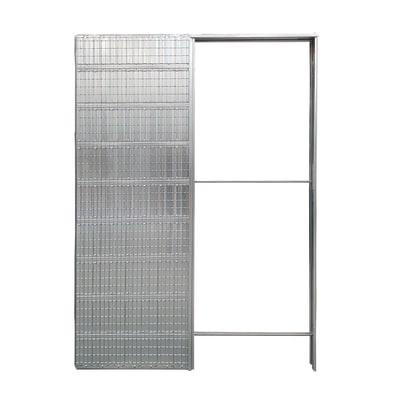 Controtelaio porta scorrevole per intonaco 70 x 210  cm