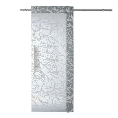Porta da interno scorrevole Decor 88 x H 220 cm dx