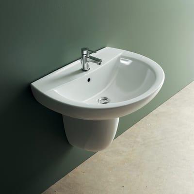 lavabo sospeso scala idyl prezzi e offerte online leroy