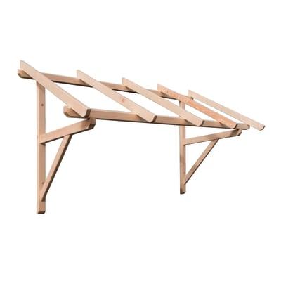 Tettoia in legno helios l 205 x p 100 cm prezzi e offerte for Tettoia legno leroy merlin