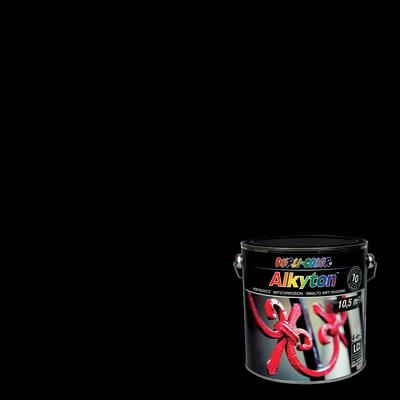 Smalto per ferro antiruggine Alkyton nero RAL 9005 opaco 2,5 L