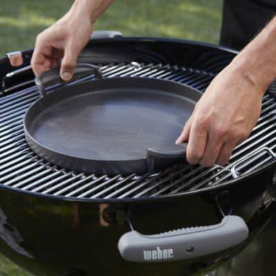 Piastra Gourmet per barbecue D.47 Weber