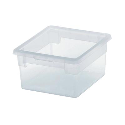 Scatola Light Box S/2 L 17,8 x P 20,4 x H 10 cm trasparente