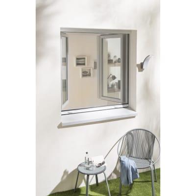 Zanzariera in kit avvolgibile bianco L 100 x H 160 cm