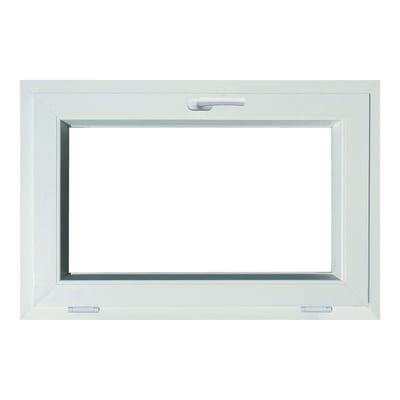 Finestra PVC bianco L 90 x H 60 cm