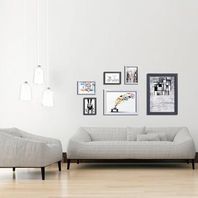 Cornice Bomber bianco 13 x 18 cm