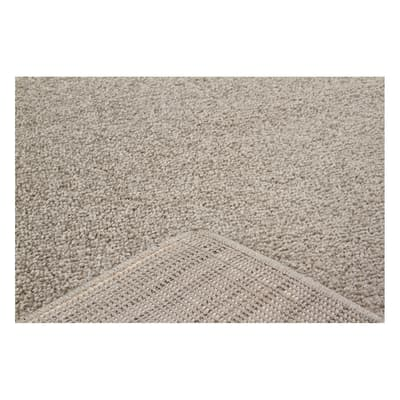 Tappeto Soave plain tortora 160 x 230 cm