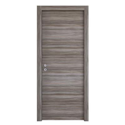 Porta da interno battente Cover palissandro grigio 60 x H 210 cm reversibile