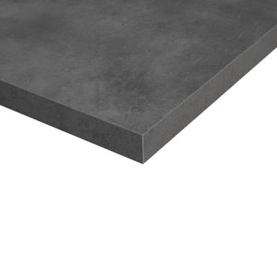 Piano cucina su misura laminato Copperf. grigio 4 cm