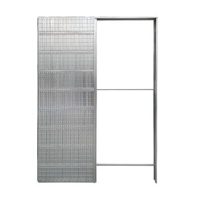 Controtelaio porta scorrevole per intonaco 80 x 210  cm