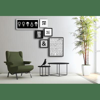Stampa incorniciata Life 50 x 70 cm