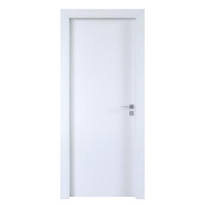 Porta per hotel battente Radisson white bianco 60 x H 210 cm sx