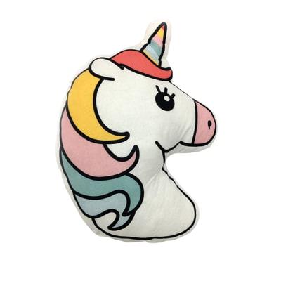 Cuscino Unicorno fucsia 66 x 56 cm