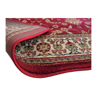 Tappeto Carrera rosso 160 x 230 cm