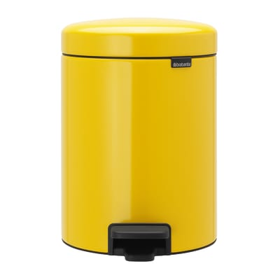 Pattumiera a pedale newIcon giallo 5 L