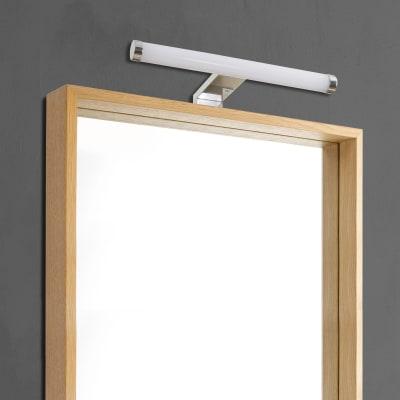 Luce da specchio Solar con kit multi attacco cromo 30 cm 5,5 W 480 Lumen led integrato IP44