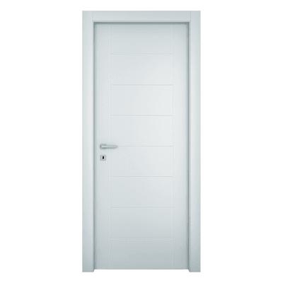 Porta da interno battente Chamberì bianco 80 x H 210 cm dx