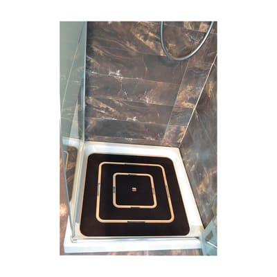 Pedana doccia in compensato marino grigia 60 x 60 cm for Compensato marino leroy merlin