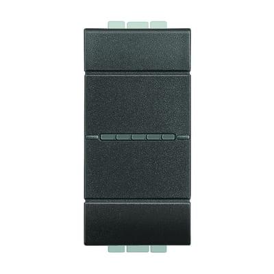 Deviatore BTicino Livinglight nero