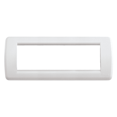Placca 6 moduli Vimar Idea bianco
