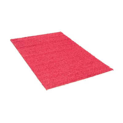 Tappeto Curly rosa 120 x 170 cm