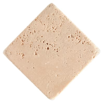 Piastrella Marmo Travertino 10 x 10 cm beige