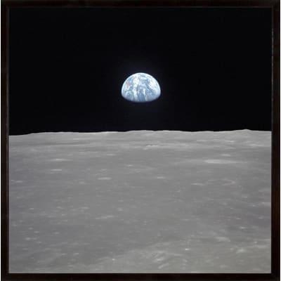 Stampa incorniciata Earth 30 x 30 cm