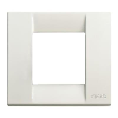 Placca 2 moduli Vimar Idea avorio