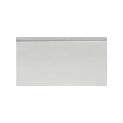 Battiscopa Passacavo Plus grigio 15 x 80 x 2000 mm