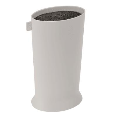 Porta posate e mestoli Porta coltelli Taula grigio L 12,7 x P 9,3 x H 23,9 cm
