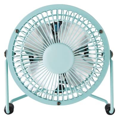 Mini ventilatore Equation Lara azzurro