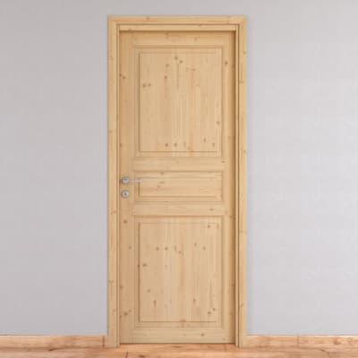 Porta da interno battente Beethoven grezza 90 x H 210 cm reversibile