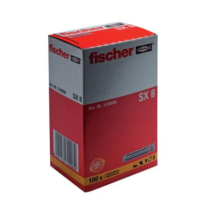 100 tasselli Fischer SX ø 8 x 40  mm