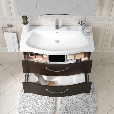 Mobile bagno Solitaire cacao L 97 cm