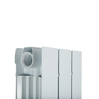 Radiatore Superior in alluminio 3 elementi interasse 1800 mm
