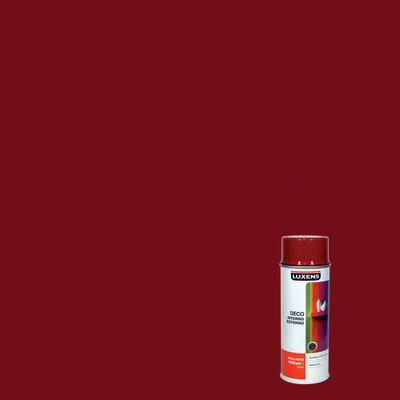 Smalto spray Deco Luxens rosso rubino RAL 3003 brillante 400 ml