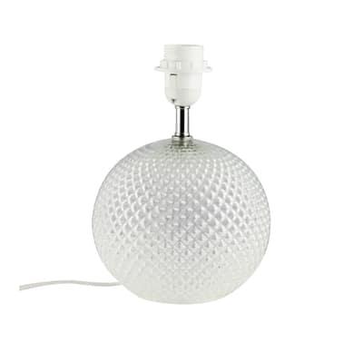 Base per lampada da tavolo personalizzabile Calexico bianco