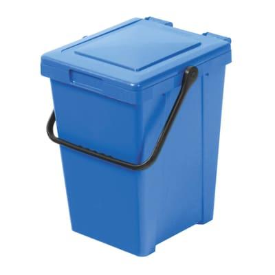 Pattumiera Max 35 L azzurro