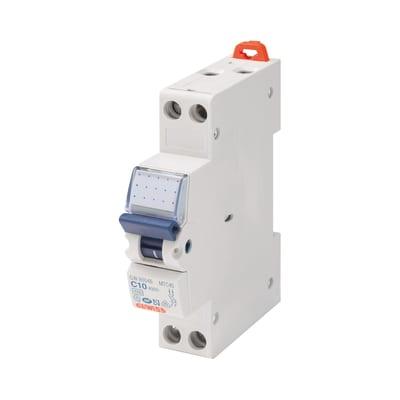 Interruttore magnetotermico Gewiss GEWGW90026 1P + N 10 A