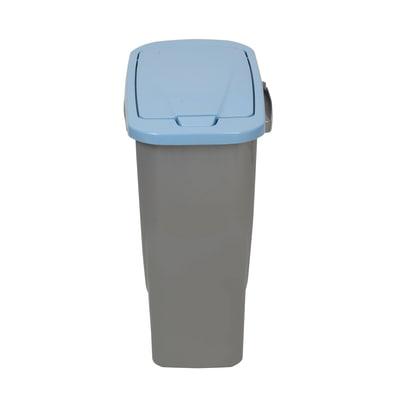 Pattumiera Ecobin 15 15 L azzurro
